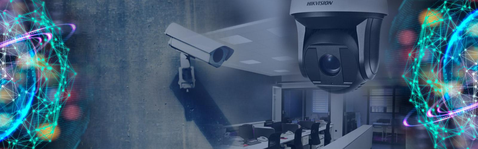 Seguridad y vigilancia mediante sistemas CCTV con cámaras.